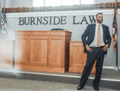 Burnside Law, LLC mock trial room